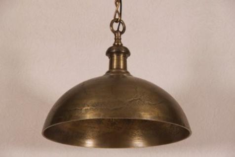 Casa Padrino Hängeleuchte Deckenleuchte Industrial Design 50cm Durchmesser - Industrie Lampe Leuchte