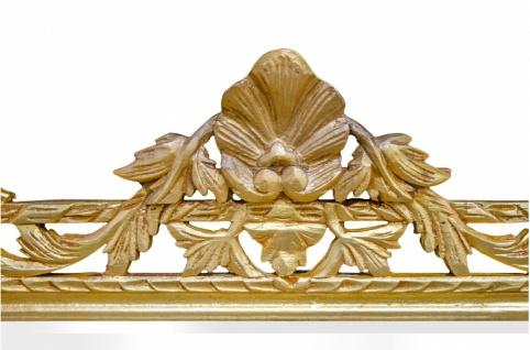 Casa Padrino Barock Spiegel Gold Handgefertigt 193 x 110 cm - Holzspiegel - Barock Möbel - Vorschau 3