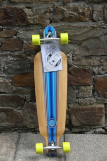 Mindless Complete Longboard Savage III Blue Drop Through 39.75 x 10.0 inch - Lagerware mit leichten Kratzern