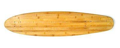 Blank Bamboo Longboard Deck