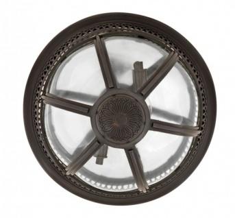 Casa Padrino Luxus Deckenleuchte Bronze Durchmesser 45 x H 30 cm Antik Stil - Möbel Lüster Deckenlampe - Vorschau 3
