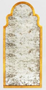 Casa Padrino Barock Wandspiegel Antik Gold - Eleganter Barock Spiegel mit antikem Spiegelglas - Barock Möbel