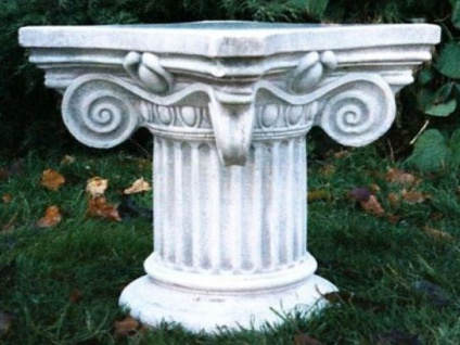 Casa Padrino Barock Säule / Blumensäule 58 x 58 x H. 42 cm - Prunkvolle Gartensäule im Barockstil