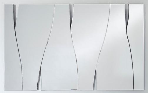 Casa Padrino Designer Wohnzimmer Spiegel / Wandspiegel 70 x 113 cm - Luxus Kollektion