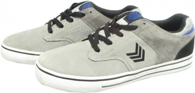 Vox Skateboard Schuhe Lockdown Cement/Schwarz/Blau