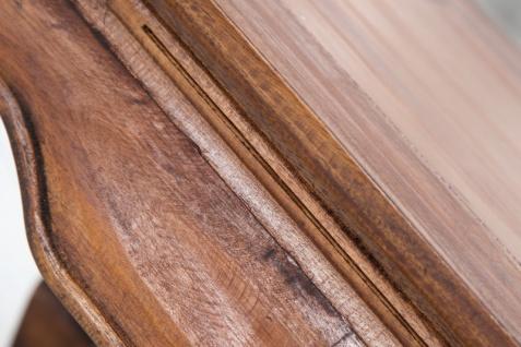 Casa Padrino Designer Massivholz Mahagoni Couchtisch Natur B.100cm x H.40cm x T.60cm - Salon Wohnzimmer Tisch - Vorschau 4
