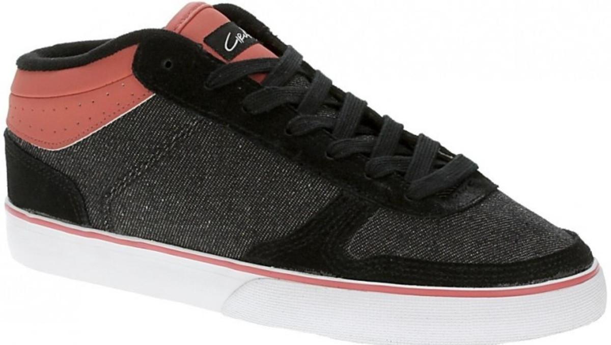 Circa Skateboard Schuhe 8 Track WTK schwarz Rosa - C1rca schuhe