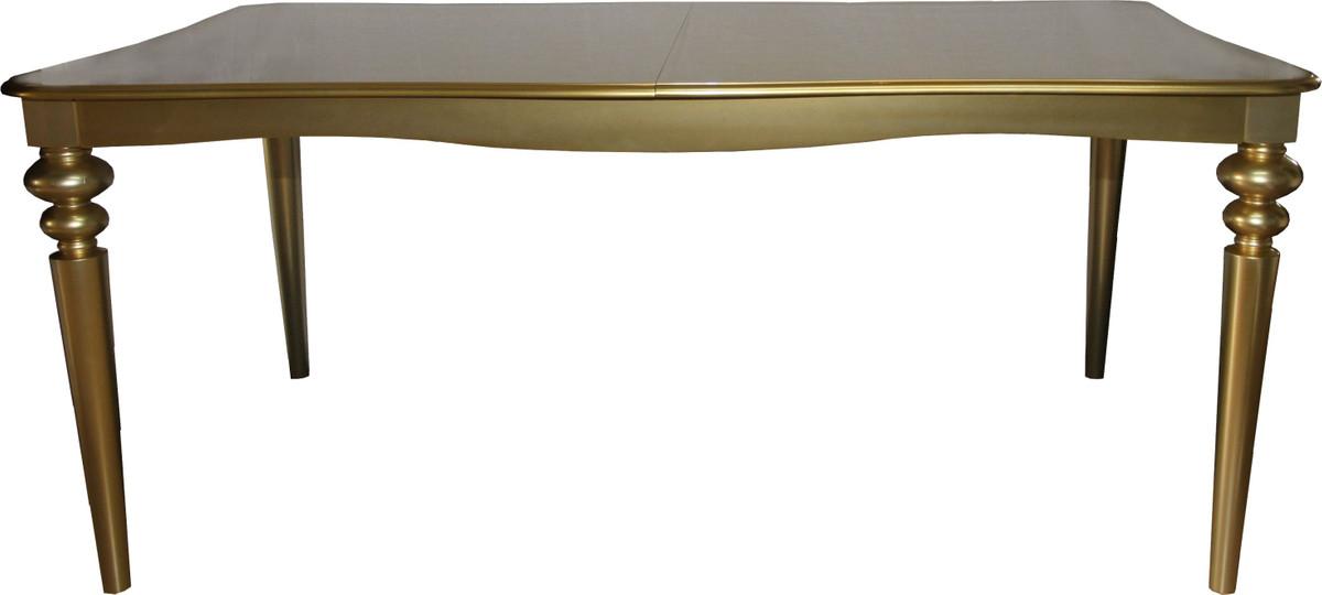 Casa Padrino Barock Luxus Esszimmer Set Schwarz Gold