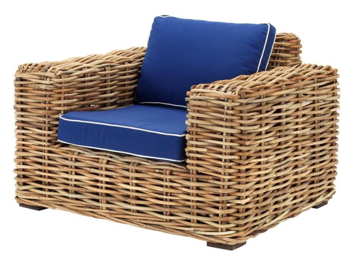 Genial Sitzmöbel Wohnzimmer Ideen Von Casa Padrino Designer Rattan Sessel 100 X