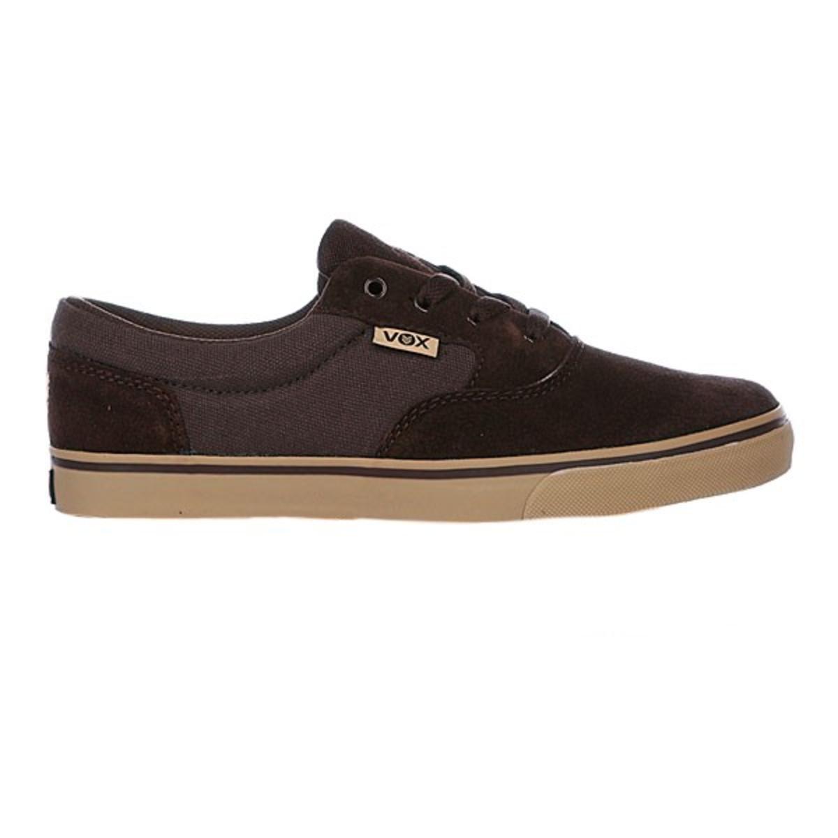 Vox Skateboard Schuhe Kruzer braun Tan Gum