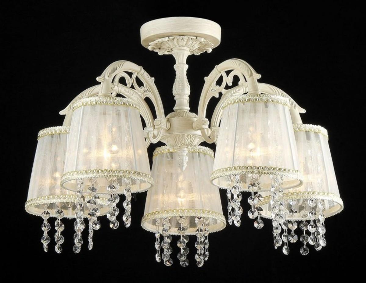 Kronleuchter Gold Kristall ~ Casa padrino barock kristall decken kronleuchter cream gold h