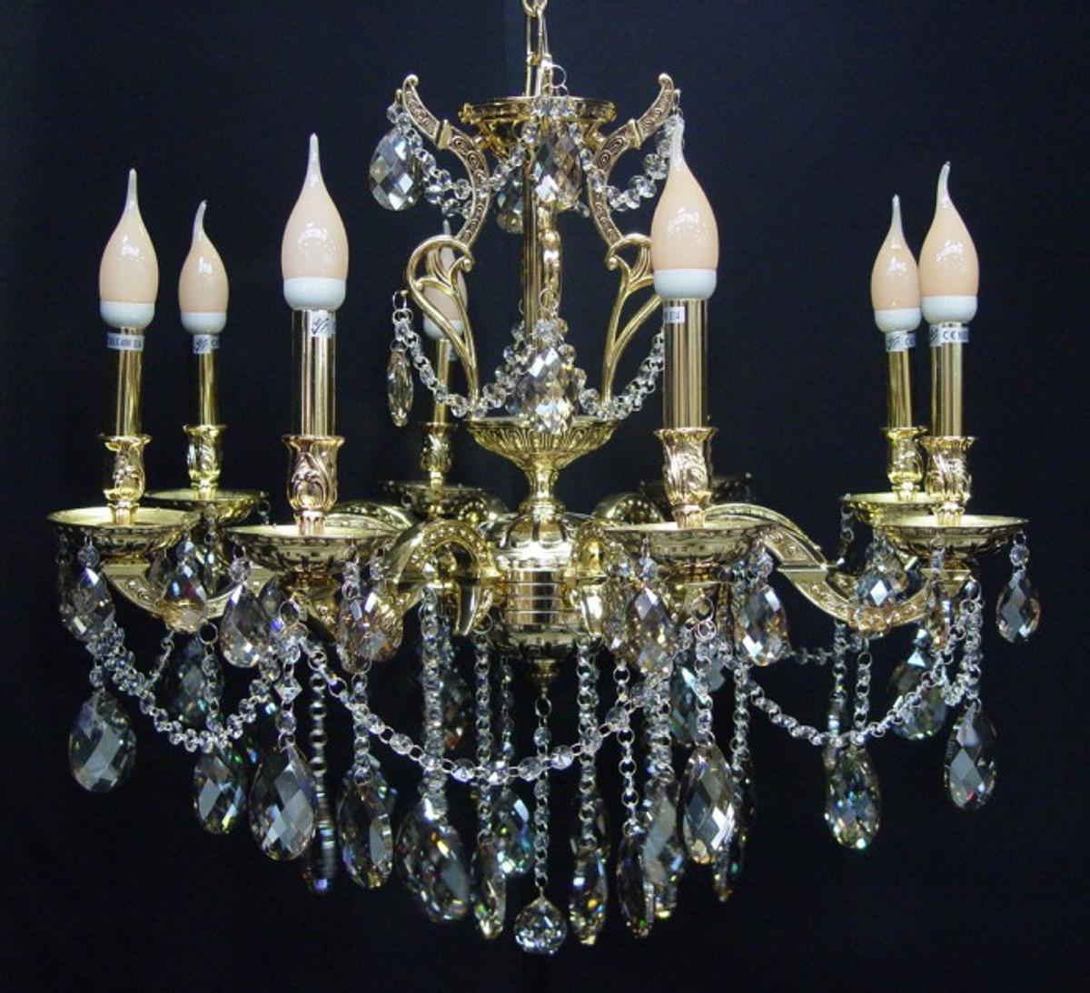 Malerisch Kronleuchter 8 Flammig Foto Von Casa Padrino Barock Kristall 8-flammig Gold Modk7