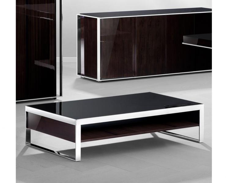 Casa padrino art deco luxus couchtisch ebenholz 140 x 80 x for Luxus couchtisch