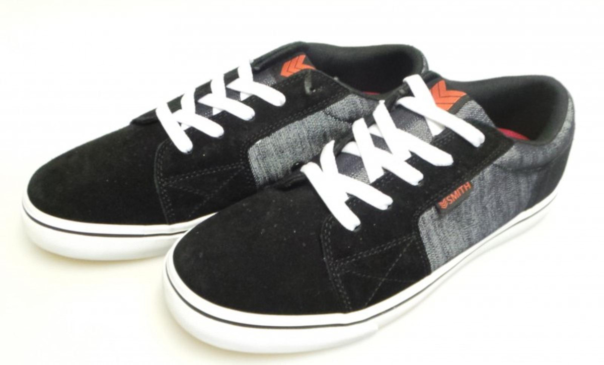 Vox Skateboard Schuhe Shovelhead Schwarz Raw Denim Weiß  Schwarz Raw Denim Weiß