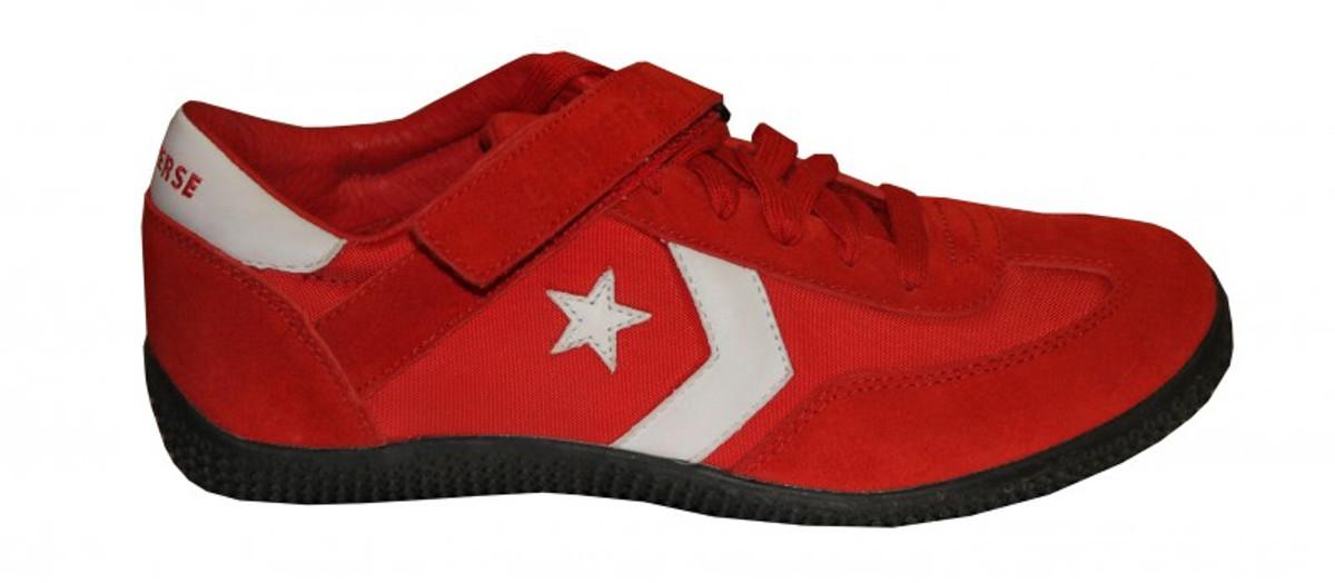 Converse Skateboard Schuhe Mark Ox rot   Weiß Turnschuhe schuhe