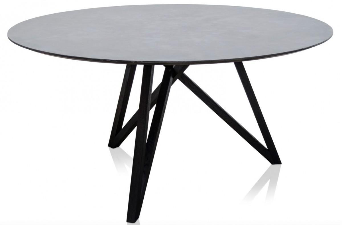 Designer Esszimmermöbel casa padrino luxus esstisch mit mineralbeschichteter tischplatte 150