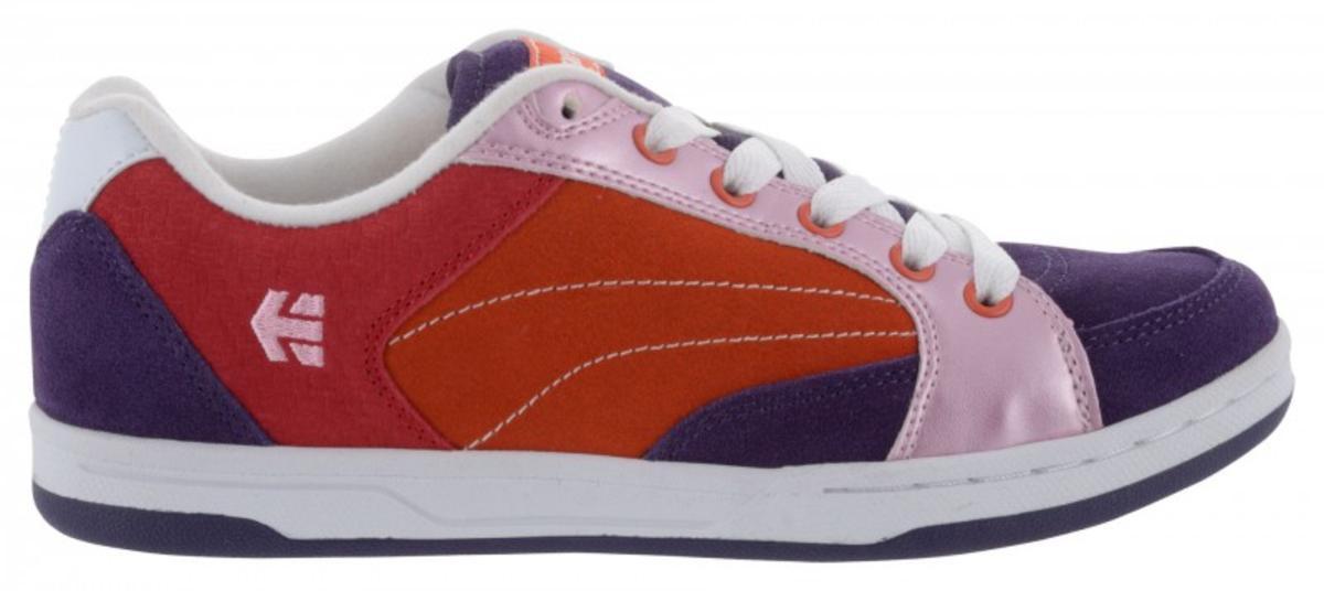 Etnies Skateboard Schuhe Czar ViolettOrangeRosa Etnies Shoes