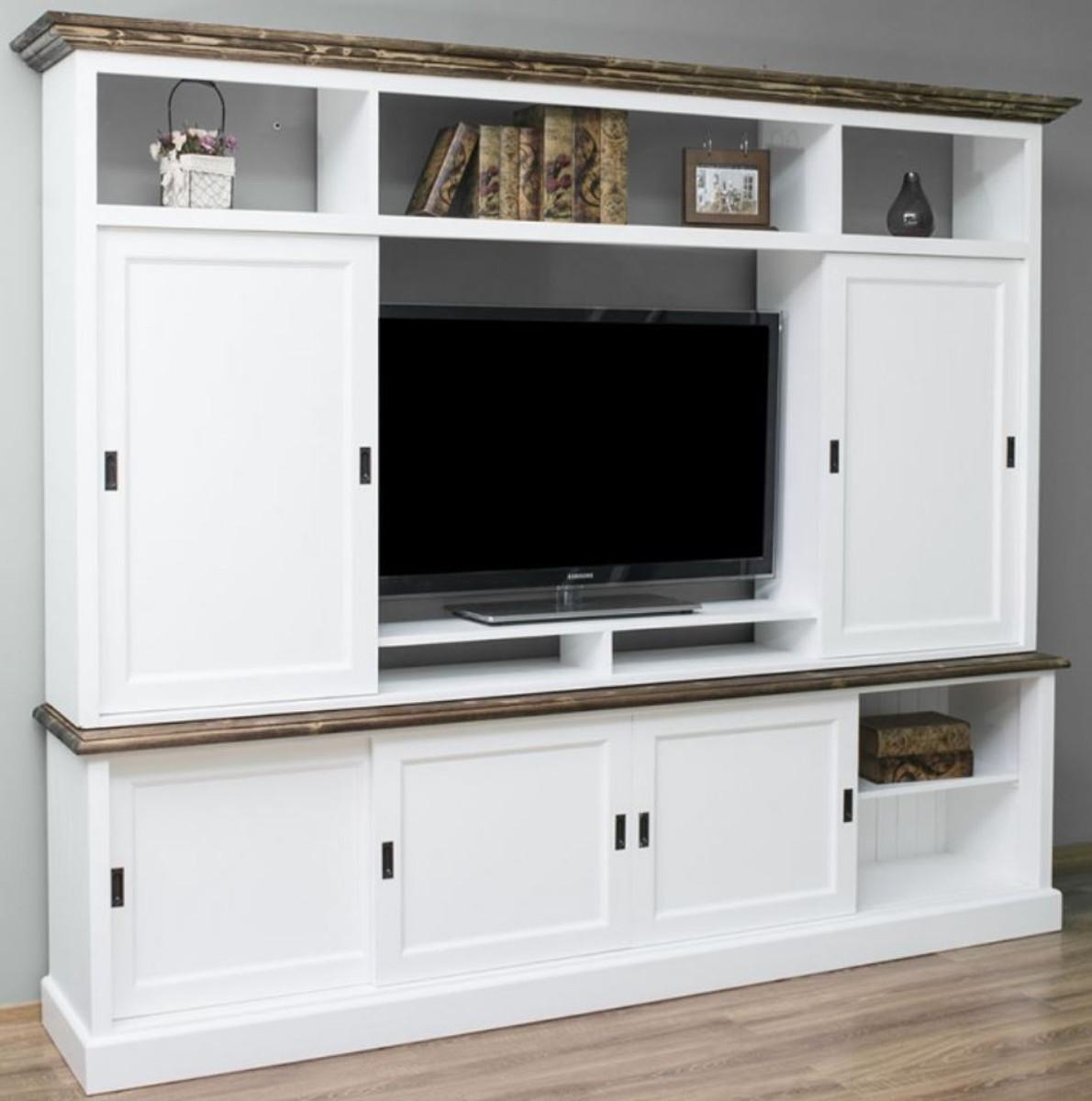 Casa Padrino Landhausstil Fernsehschrank mit 6 ...