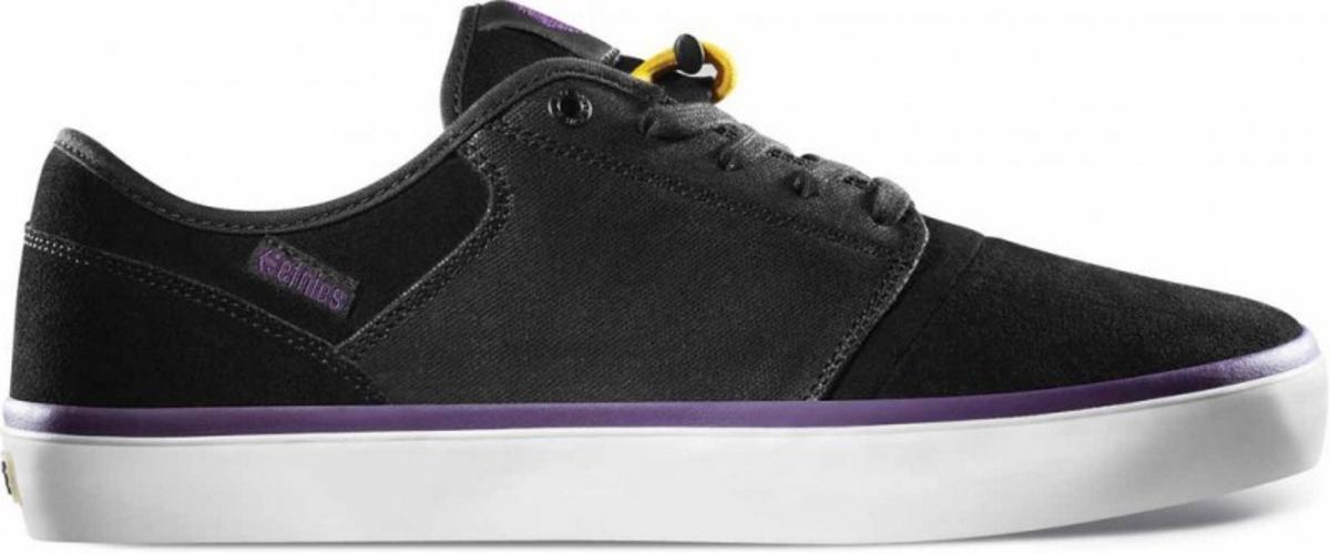 Etnies Skateboard Schuhe Bledsoe Low schwarz lila