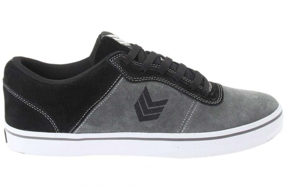 Vox Skateboard Schuhe Downlow Charcoal schwarz