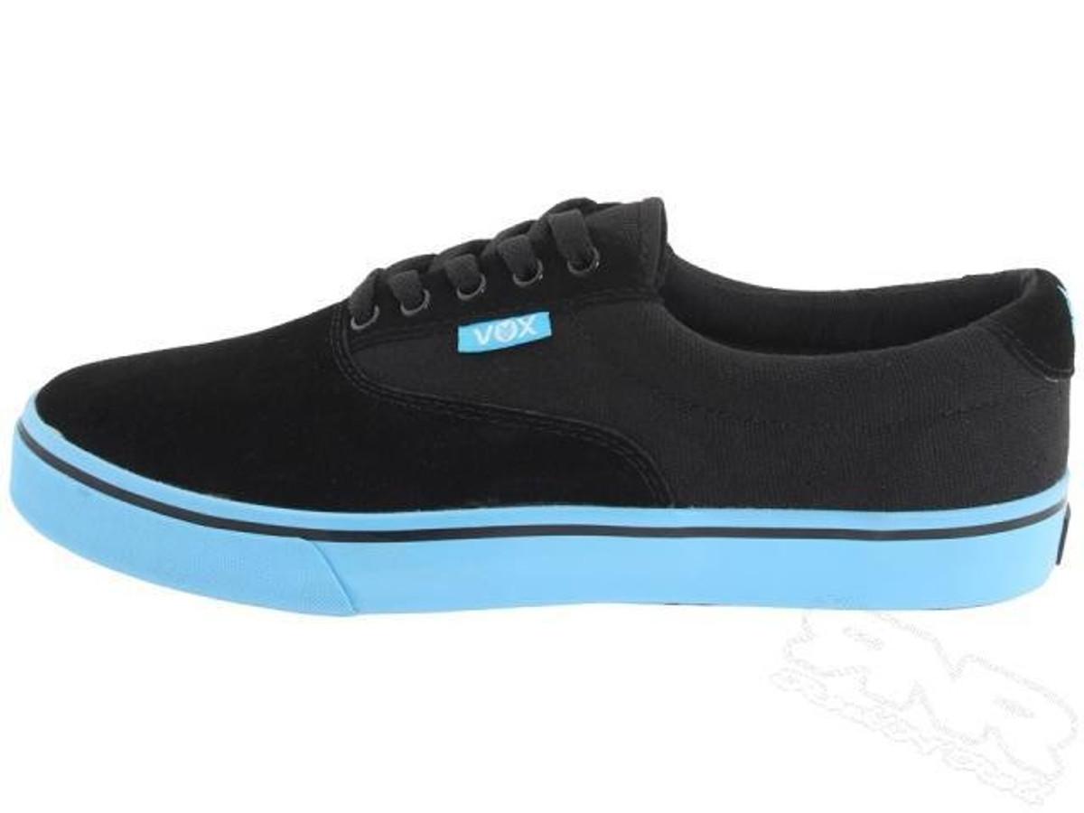 Vox Skateboard Schuhe Savey Schwarz Cyan
