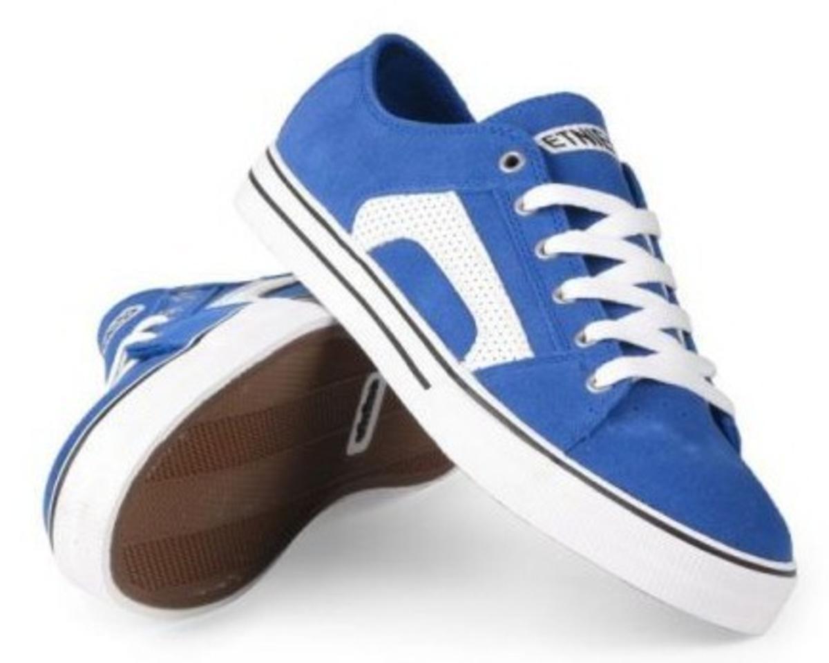 Etnies Skateboard Schuhe RSS Blau Weiß Gum