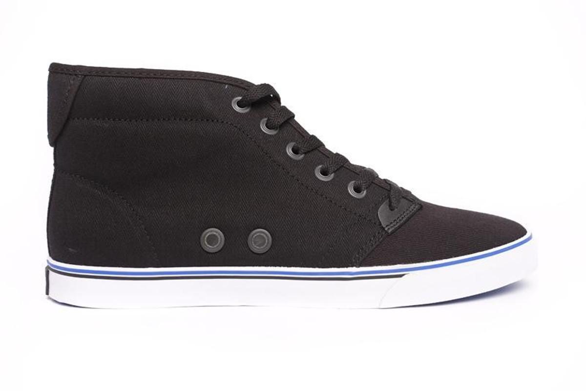Gravis Slymz Mid schwarz Skateboard Schuhe