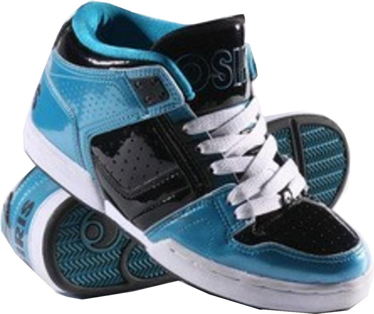 Osiris Skateboard Schuhe South Bronx Kids Pagoda schwarz Weiß