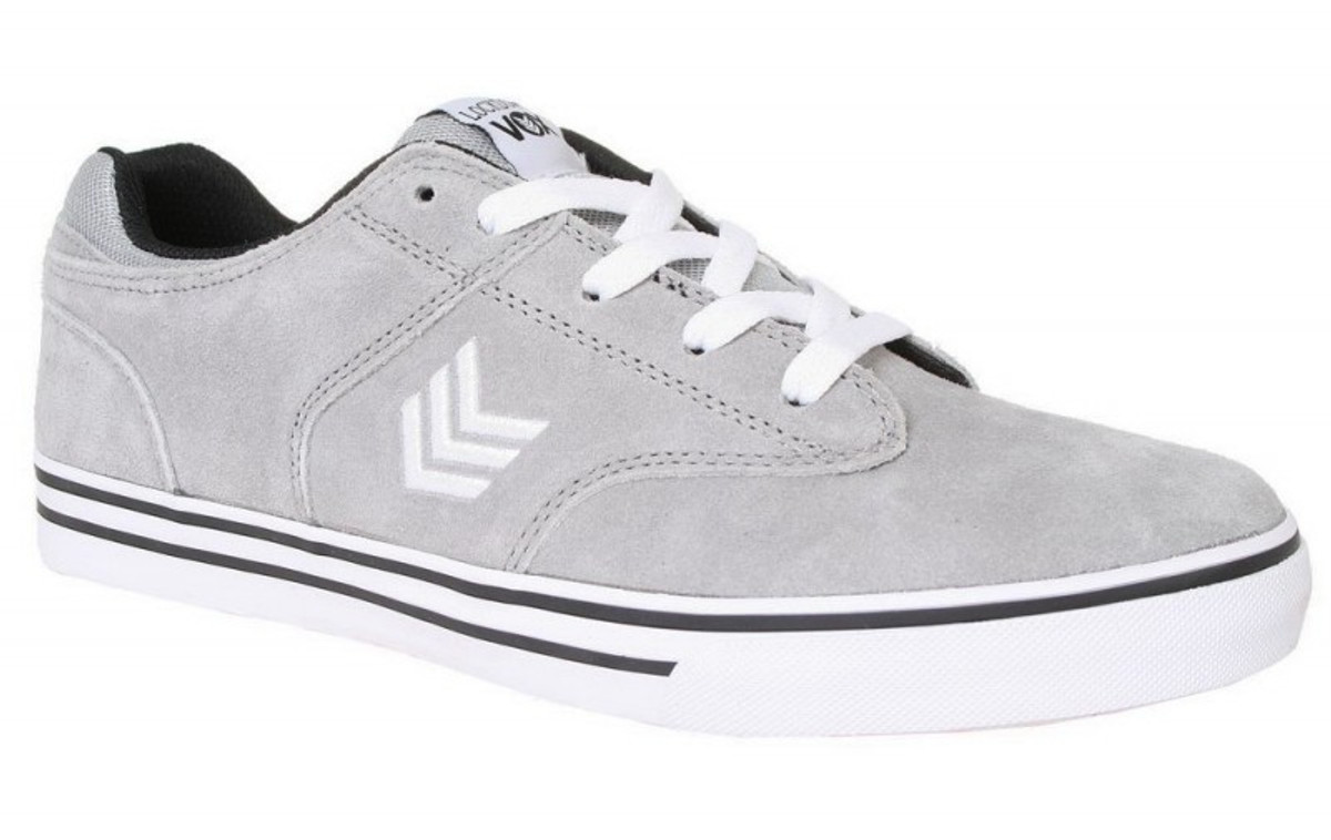 Vox Skateboard Schuhe Lookdown Grau Weiß