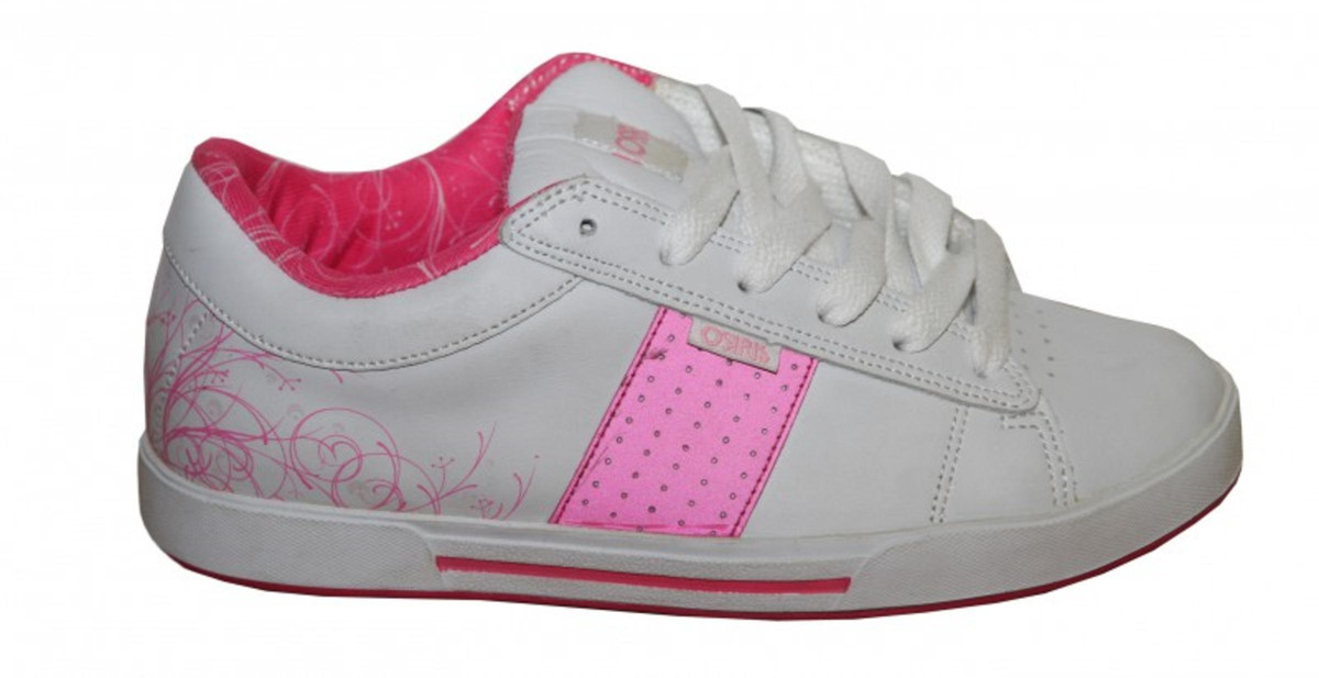 Osiris Skateboard Schuhe Volley Girls Weiß     Rosa Turnschuhe schuhe Weiß   Rosa 276208