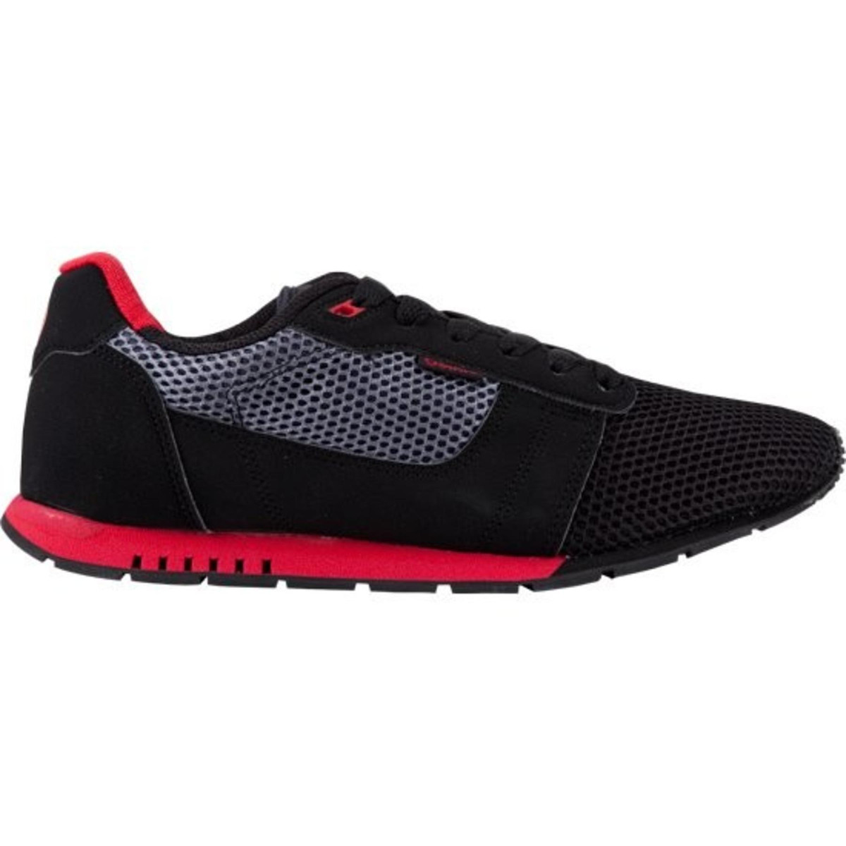 Osiris Skateboard Schuhe -- Retron-- schwarz rot Charcoal
