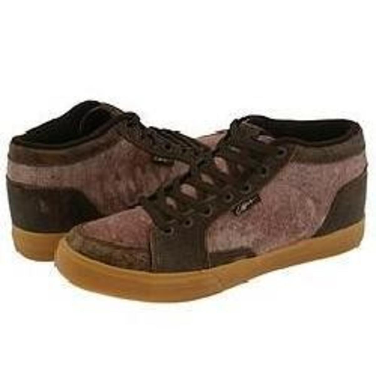Circa Skateboard Schuhe Pusher Chocolade Tie-dye Crepe