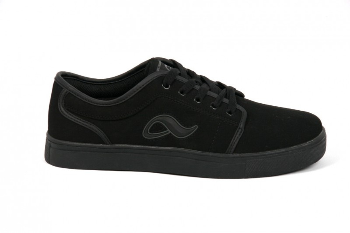 Adio Skateboard Schuhe- Indy -- schwarz NB Mono Charcoal schwarz NB Mono Charcoal