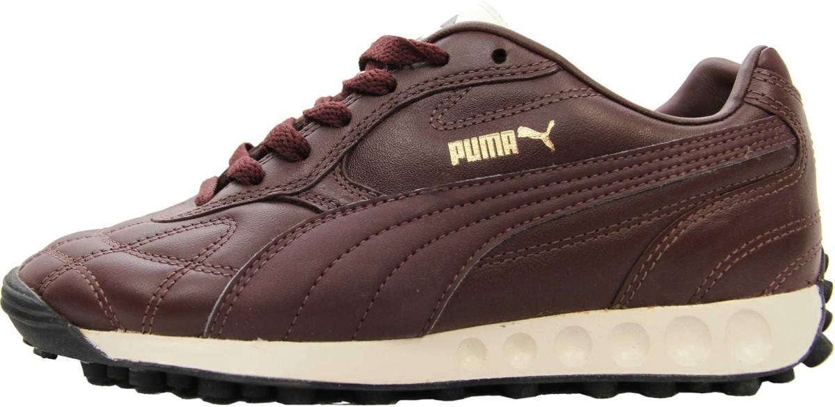 Puma Schuhe Avanti Bitter Chocolate Antique White Black Gr. 36 Sneaker Sneaker Schuhe Laufschuhe Trainers