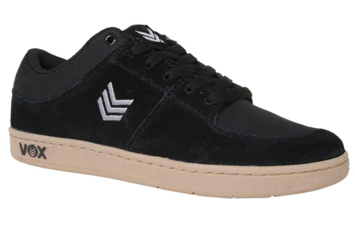 Vox Skateboard Schuhe Passport (Cup) schwarz grau Gum