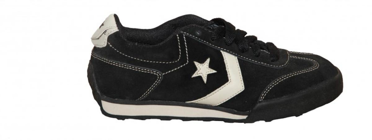 Converse Schuhe MT Star 1 OX schwarz   Parchment Skateboard Turnschuhe schuhe