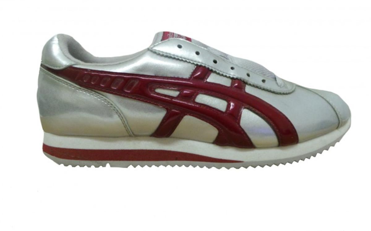 Onitsuka Sport Schuhe Tiger Silber rot