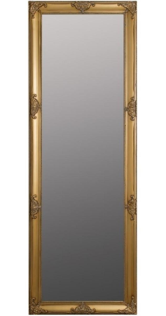 Casa Padrino Barock Wandspiegel Gold 65 X H 190 Cm