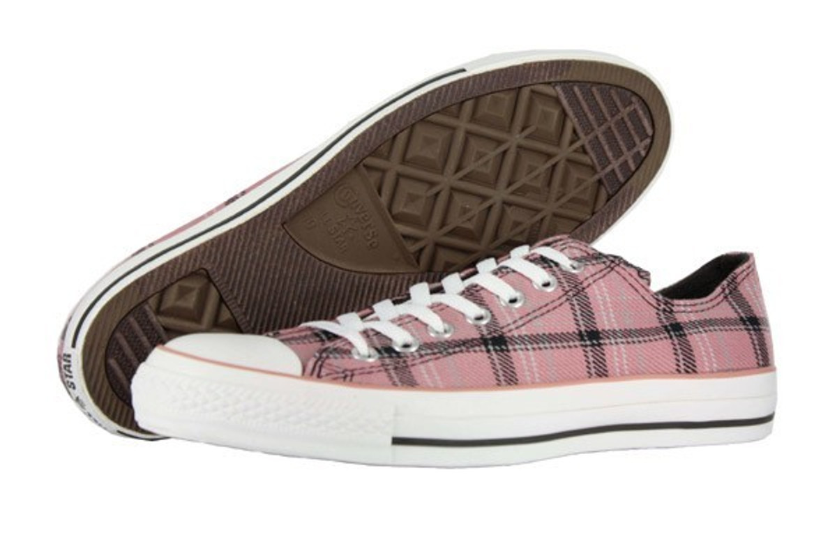 Converse Converse Converse Skateboard Schuhe CT Grunge OX Rosa Plaid Turnschuhe schuhe 06383e