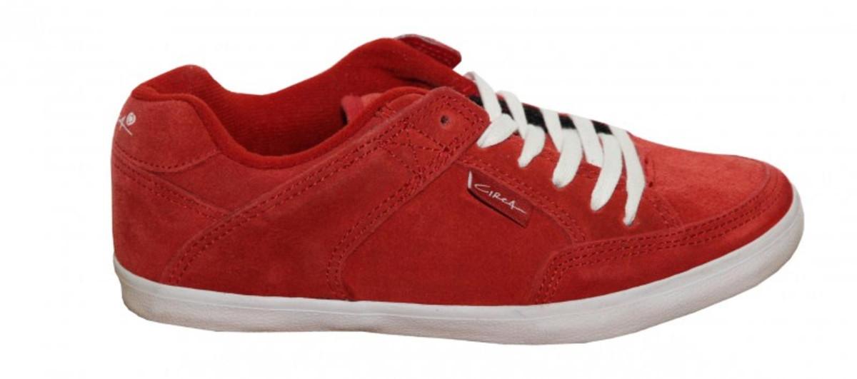 Circa Skateboard Damen Schuhe 205 Vulc rot Turnschuhe schuhe