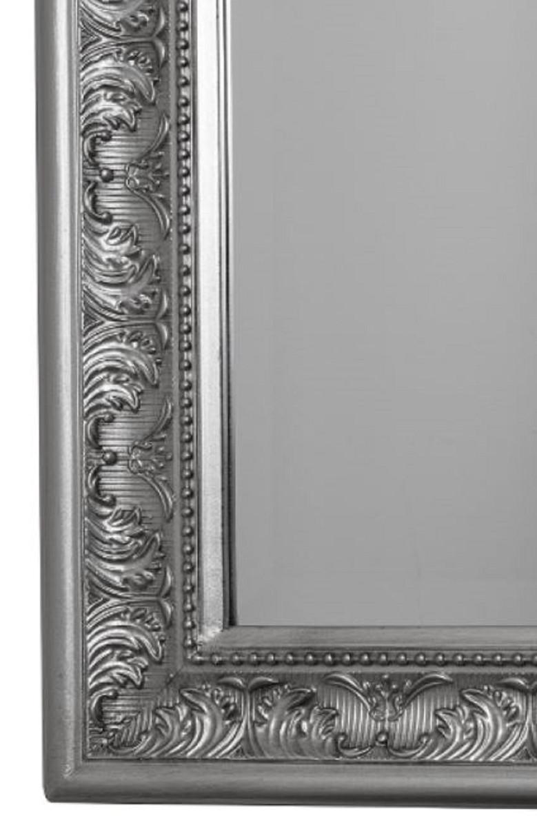 Silber Badspiegel Frisierspiel Flurspiegel Spiegel Shabby Wandspiegel Weiß