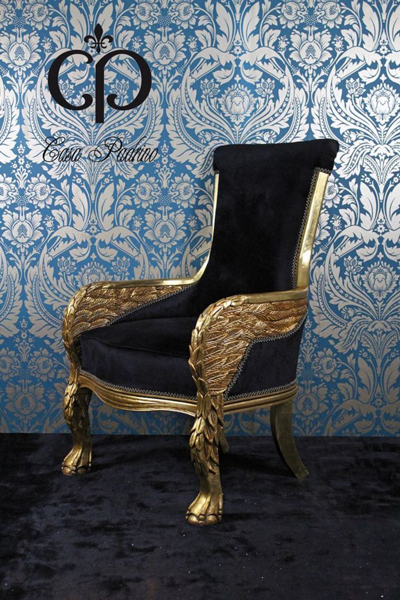 Lounge sessel gold for Barock tv mobel