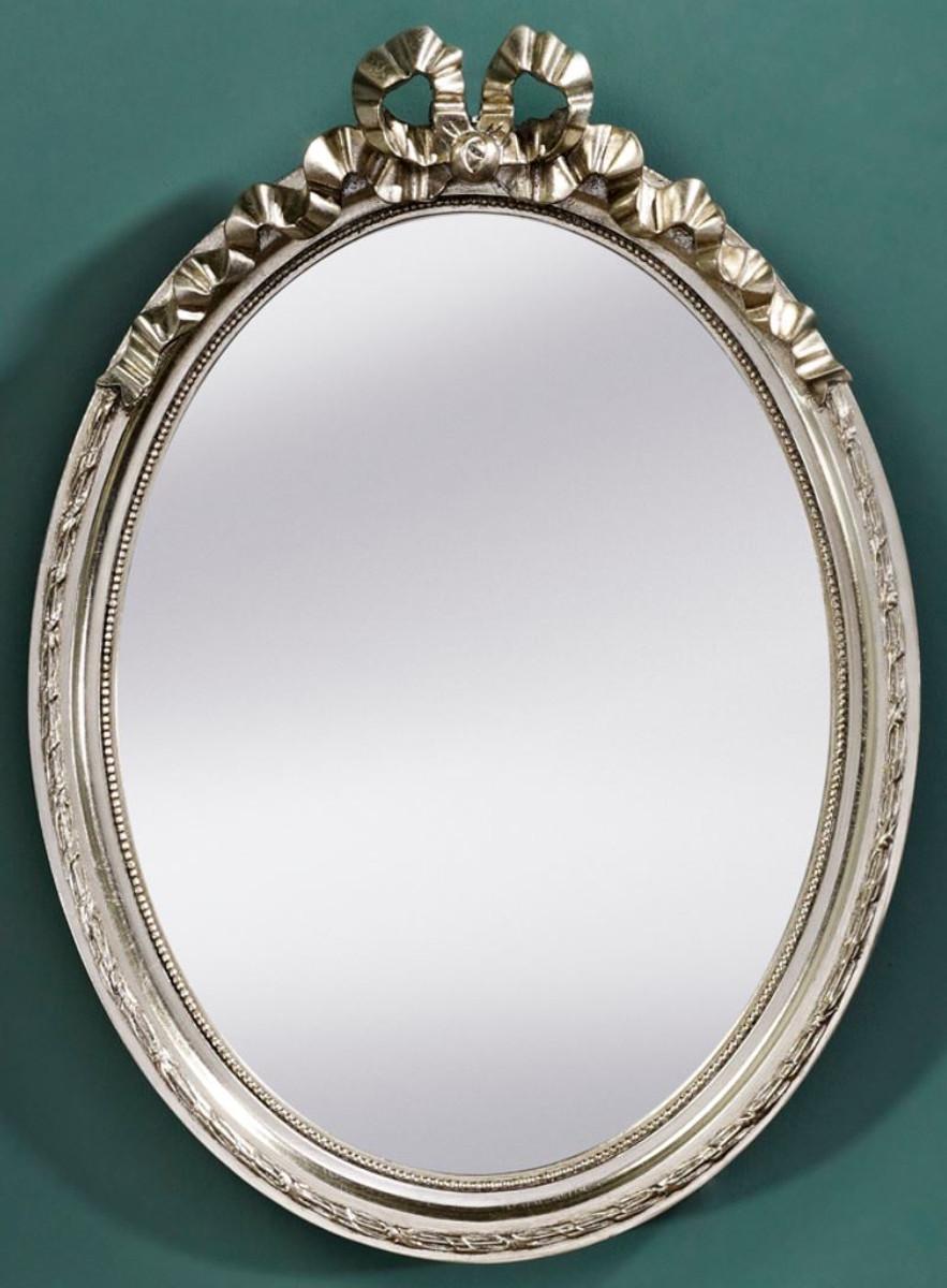Casa Padrino Barock Wohnzimmer Spiegel Silber 36 X H 50 Cm