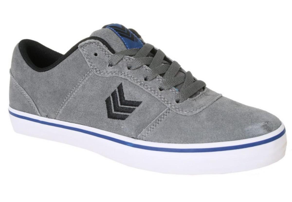 Vox Skateboard Schuhe Downlow grau Blau schwarz