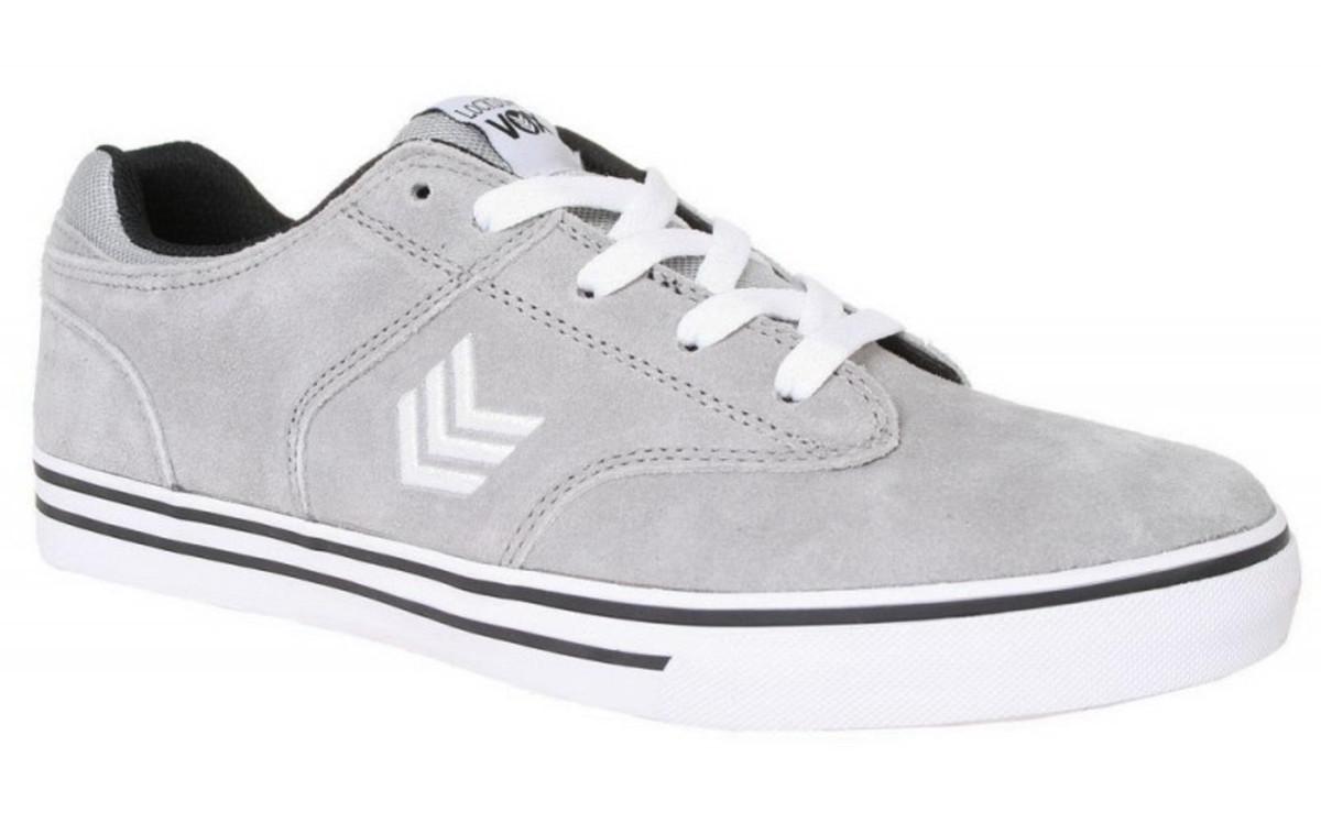 Vox Skateboard Schuhe Lockdown (Vulc) Light grau Weiß