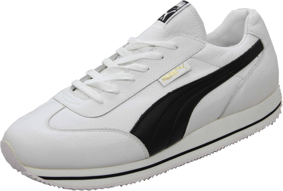 official photos 0d50a 39c92 Puma Schuhe Street Cat Leather White / Black - Sneaker Sneaker Schuhe -  Laufschuhe