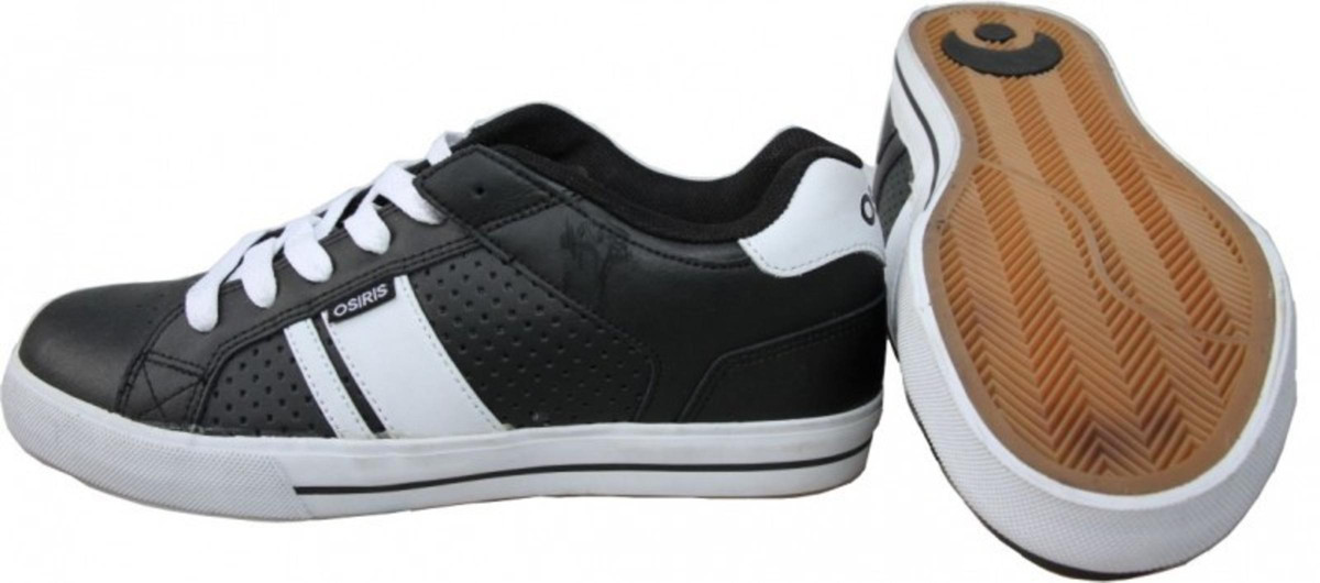 Osiris Skateboard Schuhe Duece schwarz Weiß Turnschuhe schuhe