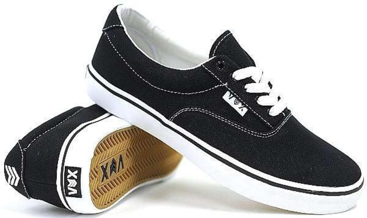 Vox Skateboard Schuhe Savey schwarz Weiß