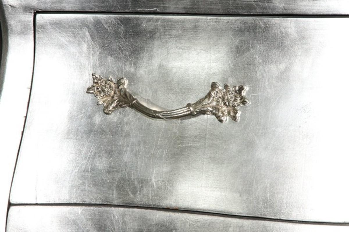 Barock Kommode Silber 2021
