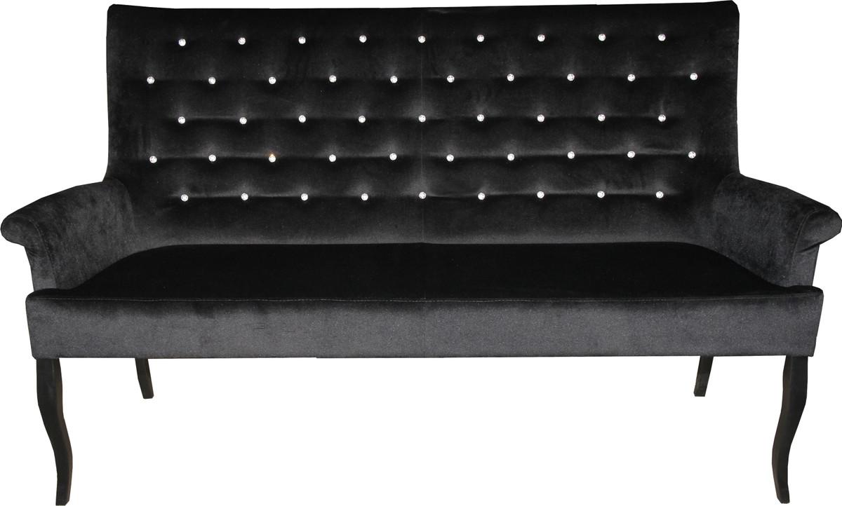 Wunderbar Sitzbank 100 Cm Galerie Von Casa Padrino Chesterfield / Sofa Mit Bling
